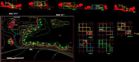 holiday complex  dwg design block  autocad designs cad