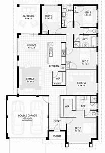 4, Bedroom, House, Plans, Australia, 2021