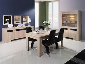best salle a manger moderne bois clair images lalawgroup With salle a manger noir et bois
