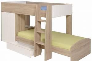 Lit Superposé Ado : lit superpos d cal fille gar on pour chambre enfant ~ Farleysfitness.com Idées de Décoration