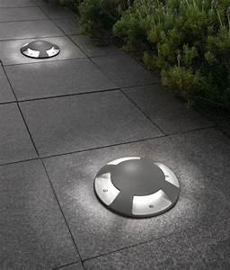 Exterior ground recessed indicator light mm diameter