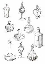 Potion Bottles Tattoo Filler Bottle Deviantart Drawing Wonderland Alice Tattoos Cool Coloring Dessin Drawings Zeichnungen Samples Perfect Dibujos Sketch Sketches sketch template