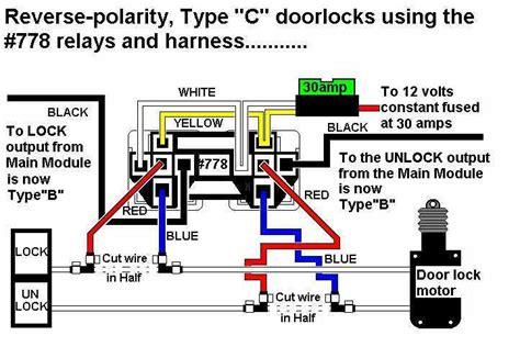 Relay For Type Door Locks Reverse Polarity Relays
