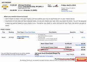 Changing and Canceling a Southwest Ticket - Deals We Like
