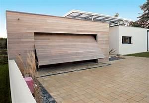 les portes de garage basculante atlantem reponde a un With porte garage basculante bois