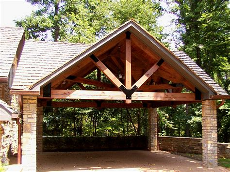 Timber Car Ports by Timber Framed Carport Home Sweet Home Carport Designs