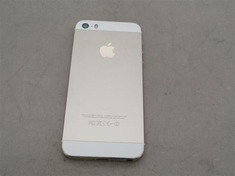 iphone model a1533 apple iphone 5s 32gb gold model a1533 smart phone tested works