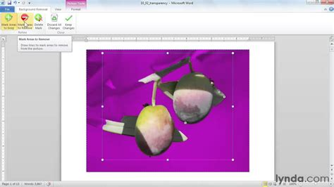microsoft word tutorial   edit picture backgrounds