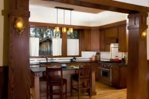 arts and crafts style homes interior design new craftsman bungalow kitchen prairiearchitect