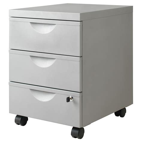 Storage Drawers On Casters by Erik Drawer Unit W 3 Drawers On Casters Ikea Epoxy