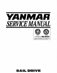 Yanmar Sail Drive Unit Sd20  Sd30  Sd31 Service Repair Manual