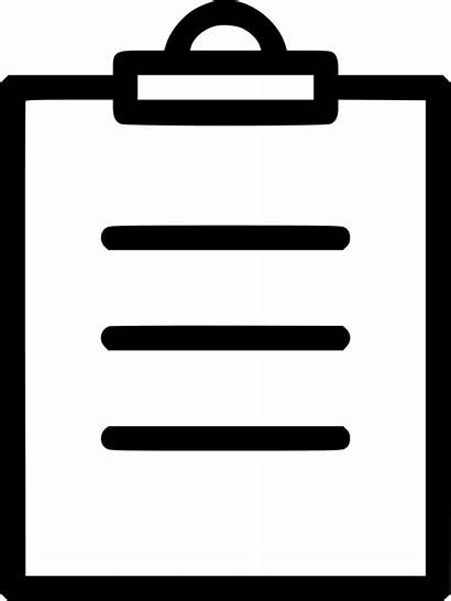 Icon Inventory Clipboard Checklist Text Onlinewebfonts Svg