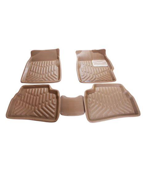 floor mats for xuv500 spedy 5d car floor mat beige for mahindra xuv500 black buy spedy 5d car floor mat beige for