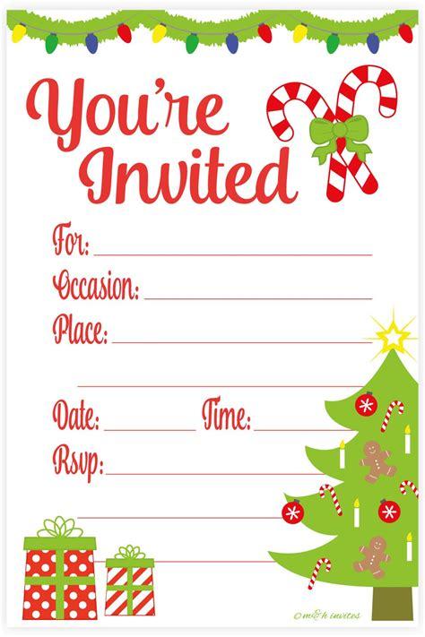 amazoncom snowflake classic christmas invitations fill
