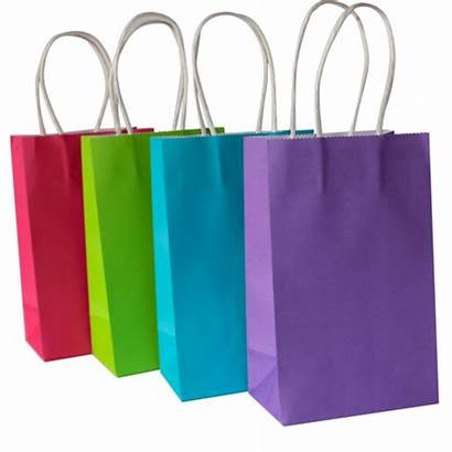 Gift Bag Paper Bags Items Carry Colored