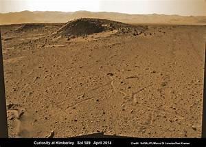Curiosity rover maneuvers around 'Kimberley' seeking ...