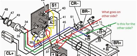 1989 Club Car Solenoid Wiring Diagram by 2012 Club Car Wiring Diagram Gas Engine