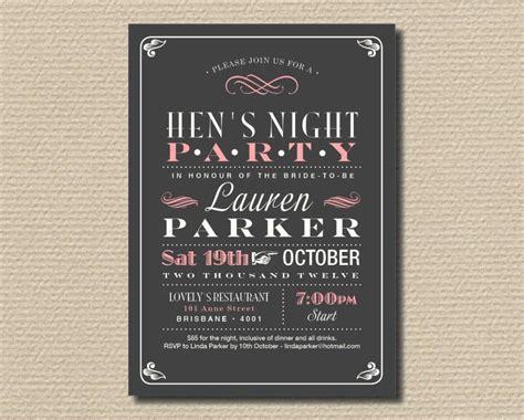 hen party invitation templates sampletemplatess