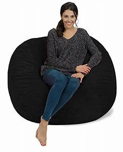 furry bean bag chairs best lounge furniture sevenhints With best memory foam bean bag chairs