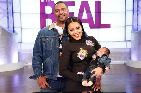 Angela Simmons' Son Makes His Tv Debut On The Real