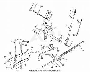 Poulan Pp20h50ja Tractor Parts Diagram For Lift Assembly