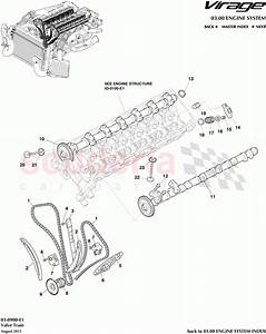 Aston Martin Virage Valve Train Parts