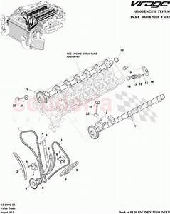 Aston Martin Virage Valve Train Parts