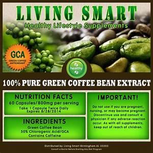 Green Coffee Bean Extract Pure 400mg 90 Vcaps Weight Loss Diet Pills Gca Svetol