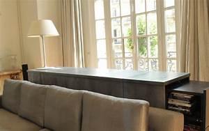 cineconcept mobilier sur mesure meuble dosseret canape With canapé lit motorisé