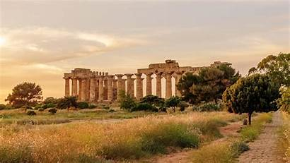 Sicily Wallpapers Ancient Greek Temple Italy Windows