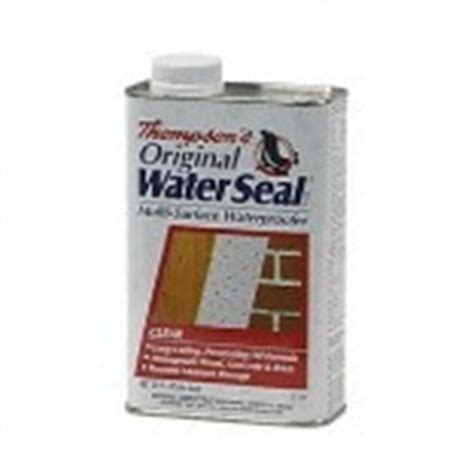 thompsons waterseal  qt thompson water seal