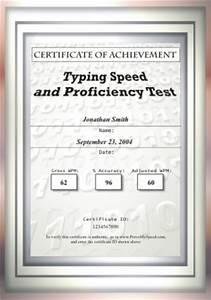 certificate templates for mac powerpoint gallery With typing certificate template