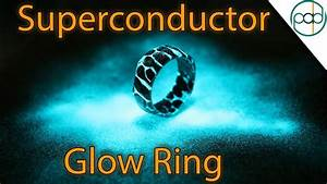 making a glowing acid etched superconductor ring with With superconductor wedding ring