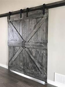 sliding doors grain designs With bi parting sliding barn doors
