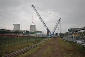 Dismantling of the bridges in Pruneřov