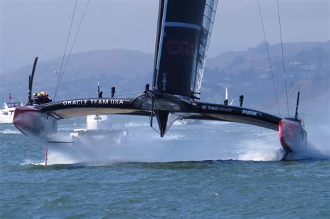 Oracle Boat by 2013 America S Cup Backblaze Company Sailing Trip
