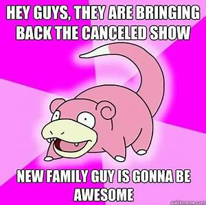 Hey guys, they are bringing back the canceled show new ...
