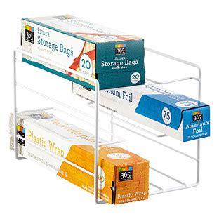 kitchen wrap organizer storage kitchen wrap organizer the container 6580