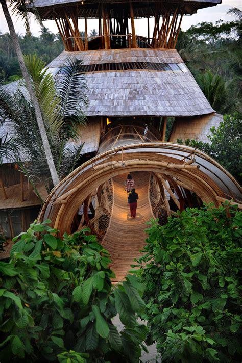 dramatic bamboo house  bali idesignarch interior design architecture interior