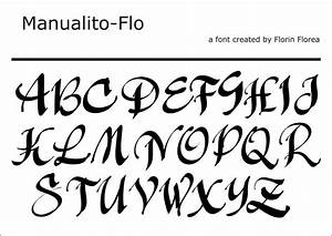 Types Of Lettering Fonts - Letters Font