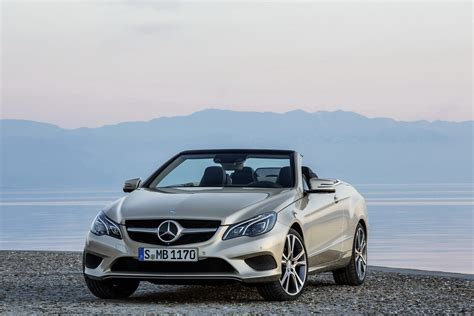 mercedes convertible 2014 mercedes benz e class coupe and convertible photos