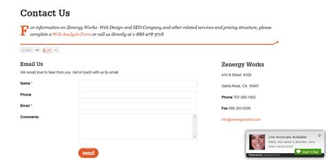 contact us page contact us page potential customer call to