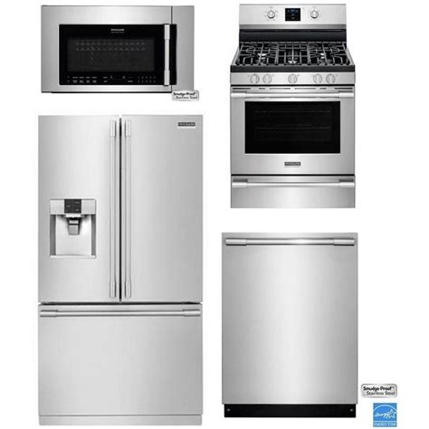 kitchen appliance packages frigidaire professional kitchen appliance package