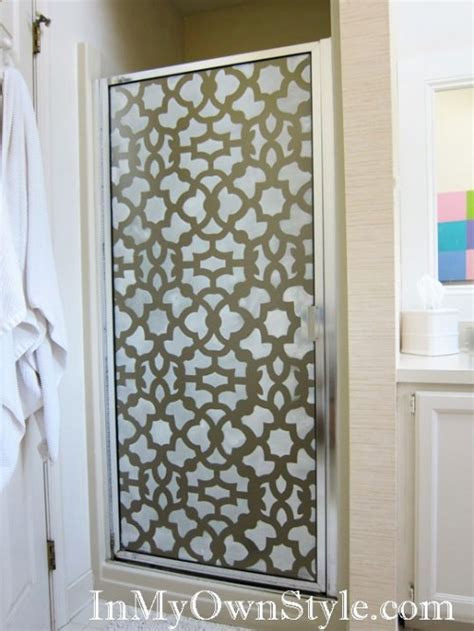 creative ideas  paint doors  stencils shelterness