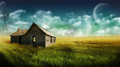 free landscaping desktop huts in the field landscape wallpaper high quality wallpapers wallpaper desktop high