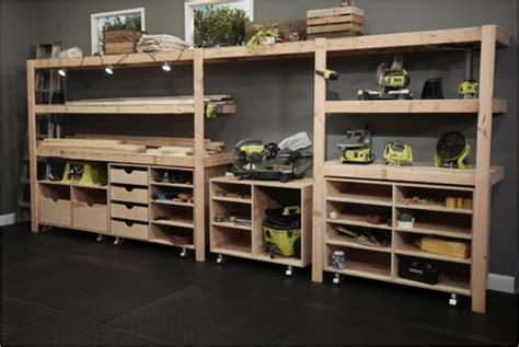 ryobi nation dream workshop diy built  shelves