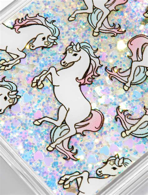 unicorn glitter case skinnydip london phone super cute sparkle