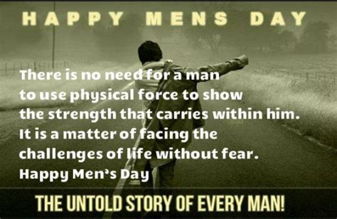 happy international mens day  quotes messages
