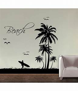 Decor kafe decal style beach wall sticker buy