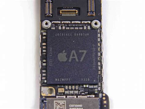 iphone chip iphone 5s teardown reveals touch id sensor a7 chip made